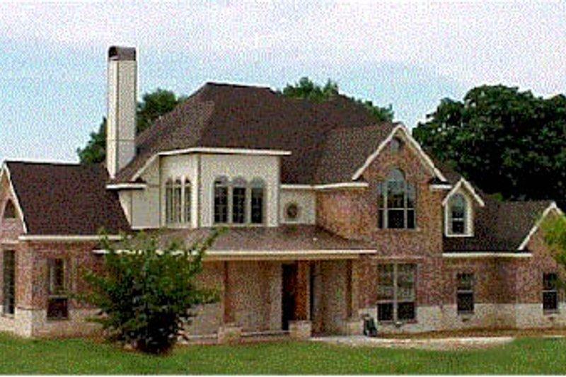 Architectural House Design - European Exterior - Front Elevation Plan #20-257