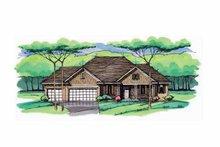 Home Plan - Prairie Exterior - Front Elevation Plan #51-967