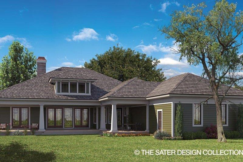Craftsman Exterior - Rear Elevation Plan #930-462 - Houseplans.com