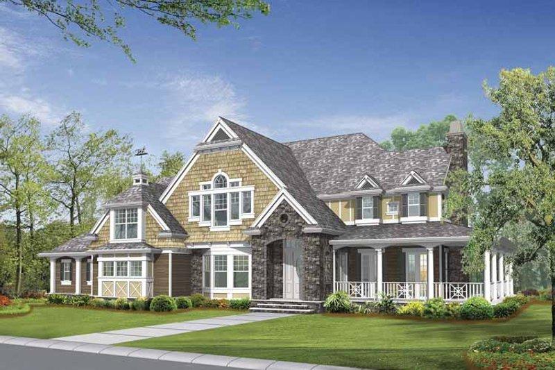 Craftsman Exterior - Front Elevation Plan #132-510 - Houseplans.com