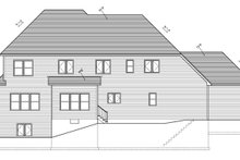 Architectural House Design - Traditional Exterior - Rear Elevation Plan #1010-96