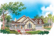 Country Style House Plan - 3 Beds 2 Baths 1898 Sq/Ft Plan #929-623 Exterior - Front Elevation