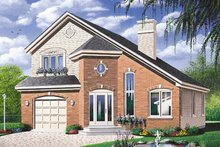 Traditional Exterior - Front Elevation Plan #23-2097