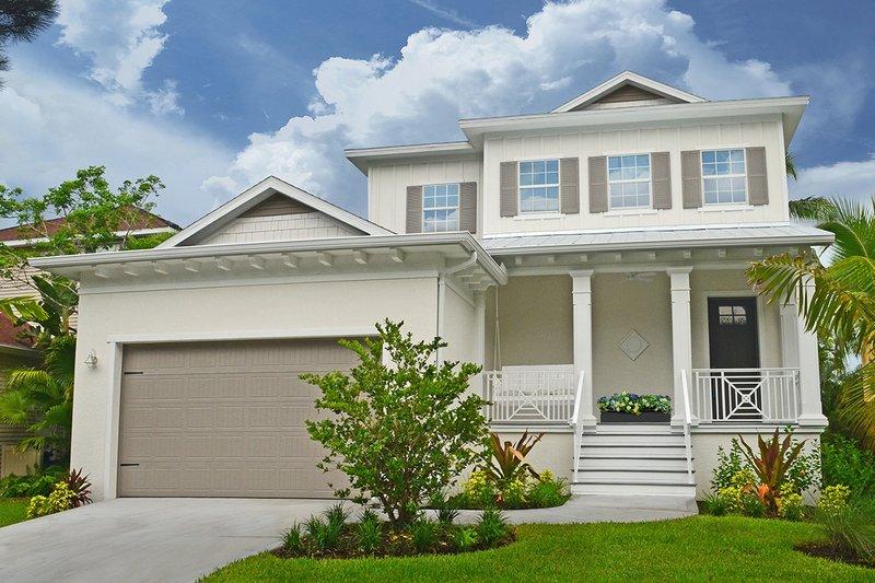 Dream House Plan - Beach Exterior - Front Elevation Plan #938-108