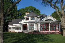 House Plan Design - Country Exterior - Rear Elevation Plan #928-233