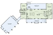 Craftsman Style House Plan - 3 Beds 3 Baths 3417 Sq/Ft Plan #17-3419