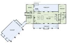 Craftsman Floor Plan - Main Floor Plan Plan #17-3419
