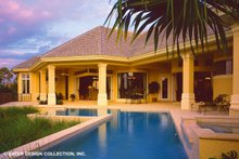 Home Plan - Mediterranean Exterior - Outdoor Living Plan #930-190