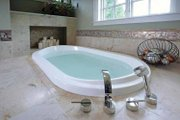 Craftsman Style House Plan - 4 Beds 3.5 Baths 4968 Sq/Ft Plan #928-32 Interior - Master Bathroom