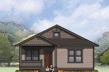 Dream House Plan - Craftsman Exterior - Front Elevation Plan #936-25