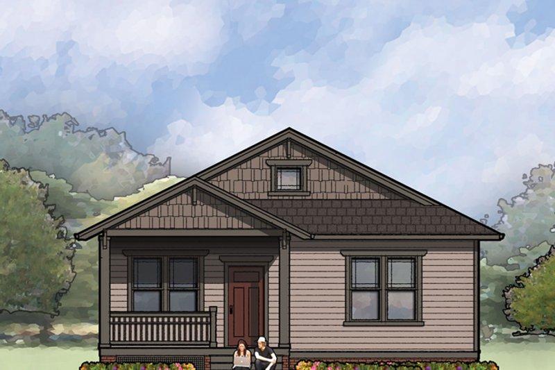Craftsman Exterior - Front Elevation Plan #936-25