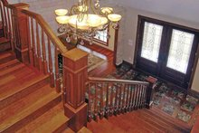 Victorian Interior - Entry Plan #314-199