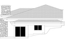 Contemporary Exterior - Other Elevation Plan #943-19