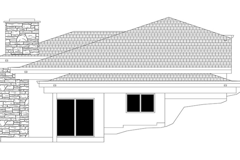 Contemporary Exterior - Other Elevation Plan #943-19 - Houseplans.com