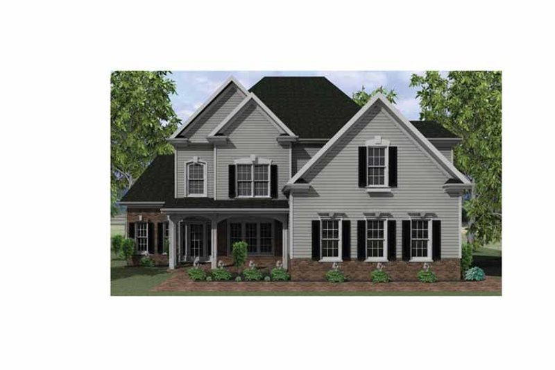 Country Exterior - Front Elevation Plan #1010-7 - Houseplans.com