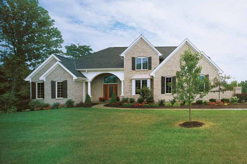 Traditional Exterior - Front Elevation Plan #46-589