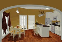 Dream House Plan - European Interior - Kitchen Plan #430-50