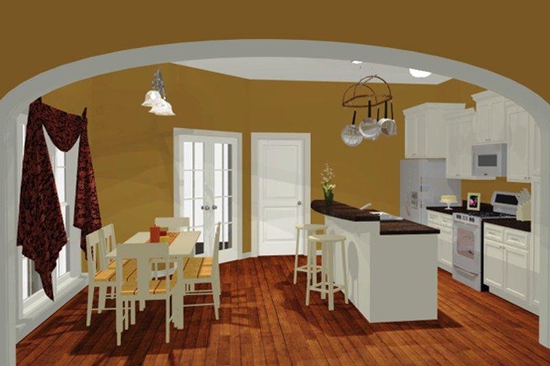 European Interior - Kitchen Plan #430-50 - Houseplans.com