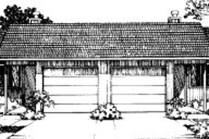 Traditional Exterior - Front Elevation Plan #303-131