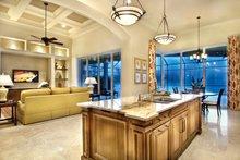 Architectural House Design - Mediterranean Interior - Kitchen Plan #930-446