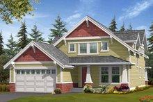 Dream House Plan - Craftsman Exterior - Front Elevation Plan #132-358