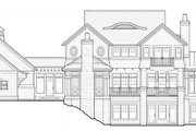 Craftsman Style House Plan - 3 Beds 2.5 Baths 3524 Sq/Ft Plan #928-45 Exterior - Rear Elevation
