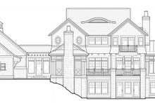 Architectural House Design - Craftsman Exterior - Rear Elevation Plan #928-45