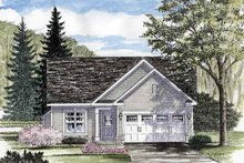 Dream House Plan - Ranch Exterior - Front Elevation Plan #316-253