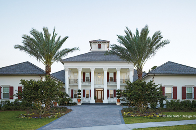 Southern Exterior - Front Elevation Plan #930-354 - Houseplans.com