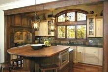 Architectural House Design - European Interior - Kitchen Plan #928-25