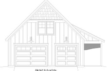 House Plan Design - Cabin Exterior - Front Elevation Plan #932-285