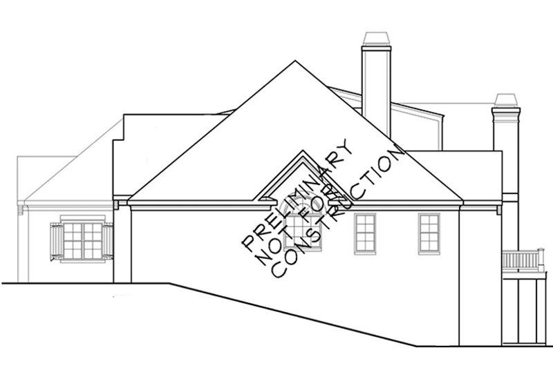 European Exterior - Other Elevation Plan #927-400 - Houseplans.com