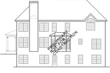 Traditional Exterior - Rear Elevation Plan #927-230