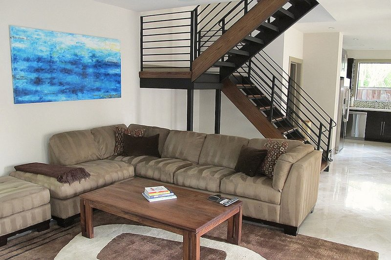Family Room - 2600 square foot Modern home