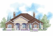 House Plan Design - Mediterranean Exterior - Front Elevation Plan #938-63