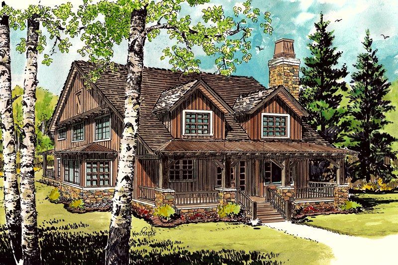 House Plan Design - Cabin Exterior - Front Elevation Plan #942-33