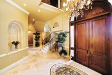 House Plan Design - Mediterranean Interior - Entry Plan #1017-14