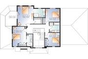 Craftsman Style House Plan - 5 Beds 4 Baths 2521 Sq/Ft Plan #23-2707 Floor Plan - Upper Floor Plan