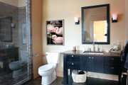 Prairie Style House Plan - 4 Beds 4 Baths 8077 Sq/Ft Plan #928-62 Interior - Bathroom