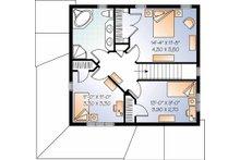 Country Floor Plan - Upper Floor Plan Plan #23-2464