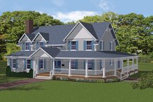 House Plan Design - Colonial Exterior - Front Elevation Plan #1061-6