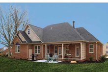 Country Exterior - Rear Elevation Plan #929-542