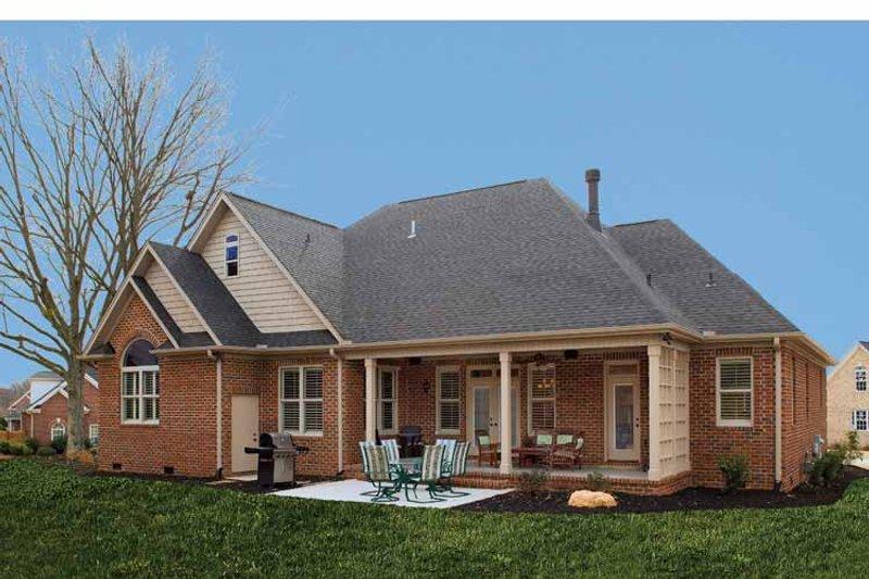 Country Exterior - Rear Elevation Plan #929-542 - Houseplans.com