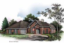 House Plan Design - Ranch Exterior - Front Elevation Plan #952-168