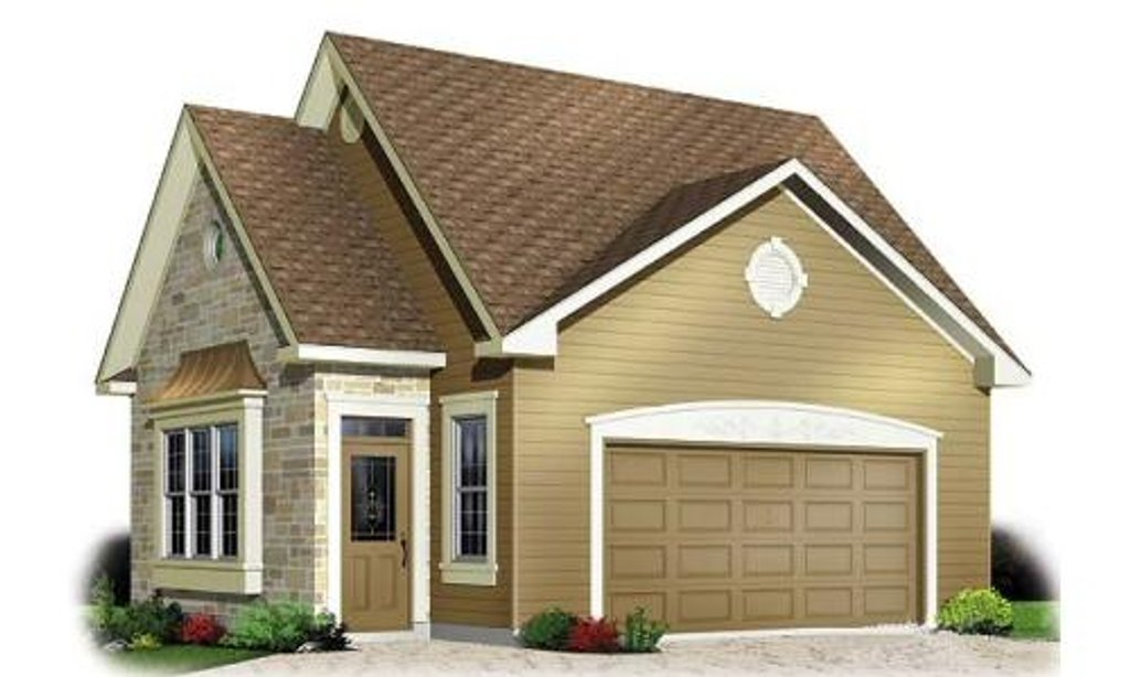 Traditional style house plan 0 beds 0 baths 1048 sq ft for Cost to build a 576 sq ft house