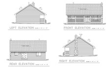 House Plan Design - Country Exterior - Other Elevation Plan #18-1027