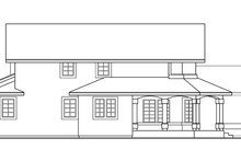 House Design - Mediterranean Exterior - Other Elevation Plan #124-409