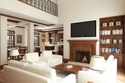 Southern Style House Plan - 3 Beds 2.5 Baths 1755 Sq/Ft Plan #45-571 Interior - Family Room