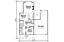 Farmhouse Floor Plan - Main Floor Plan Plan #20-2392