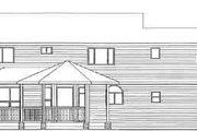 Farmhouse Style House Plan - 4 Beds 3 Baths 2904 Sq/Ft Plan #126-105 Exterior - Rear Elevation